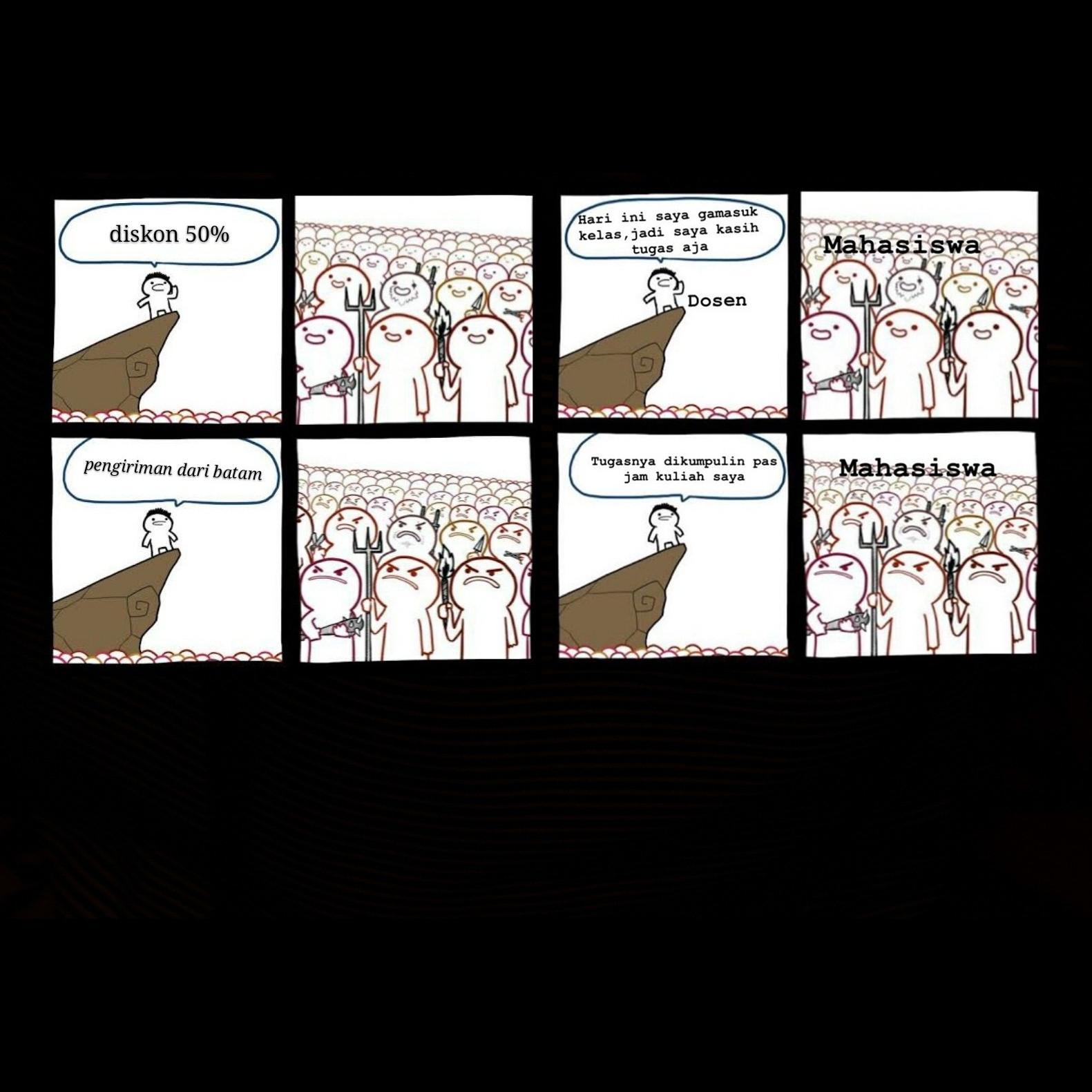 10 Meme Lucu Sekumpulan Orang Bikin Langsung Pengen Ketawa