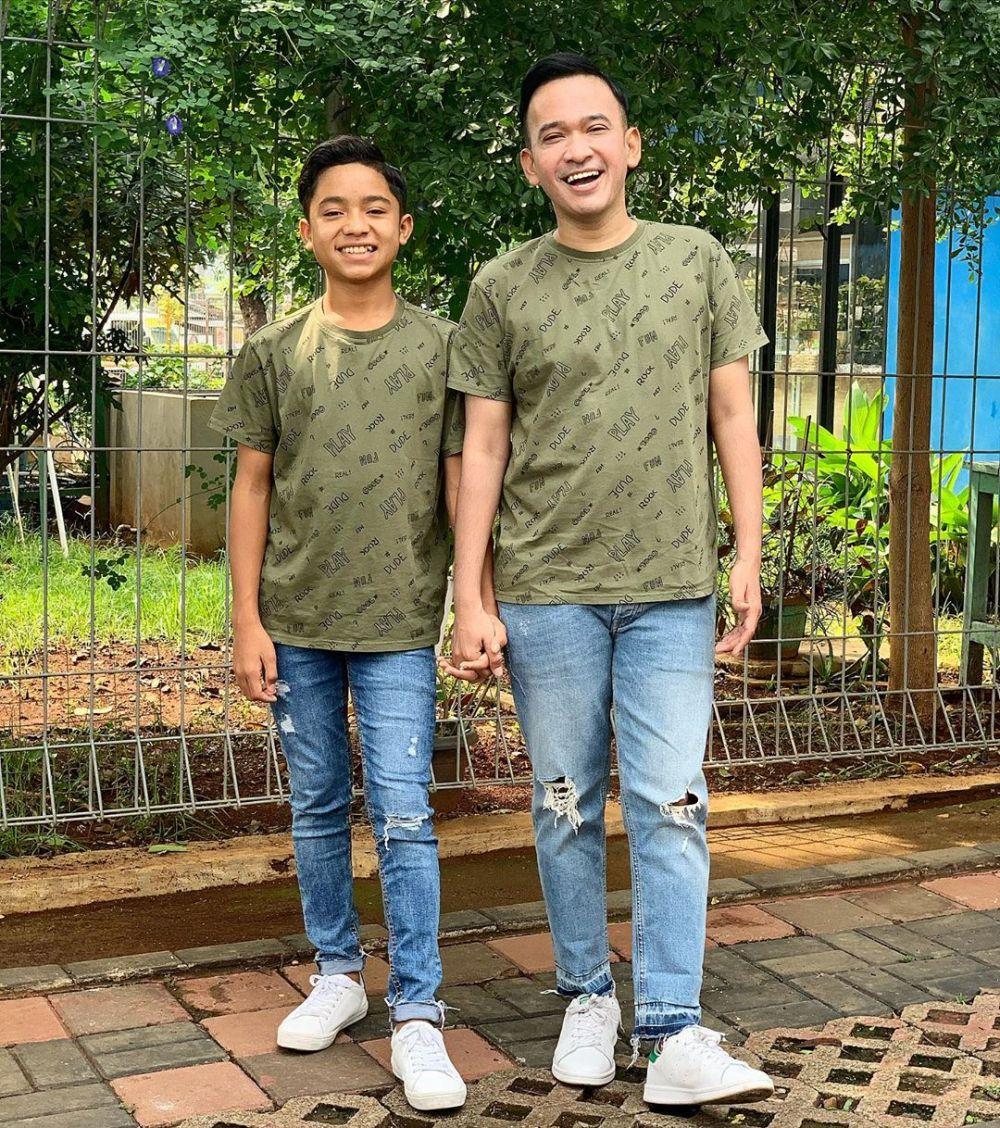 Ruben dan Betrand baju kembar  Instagram