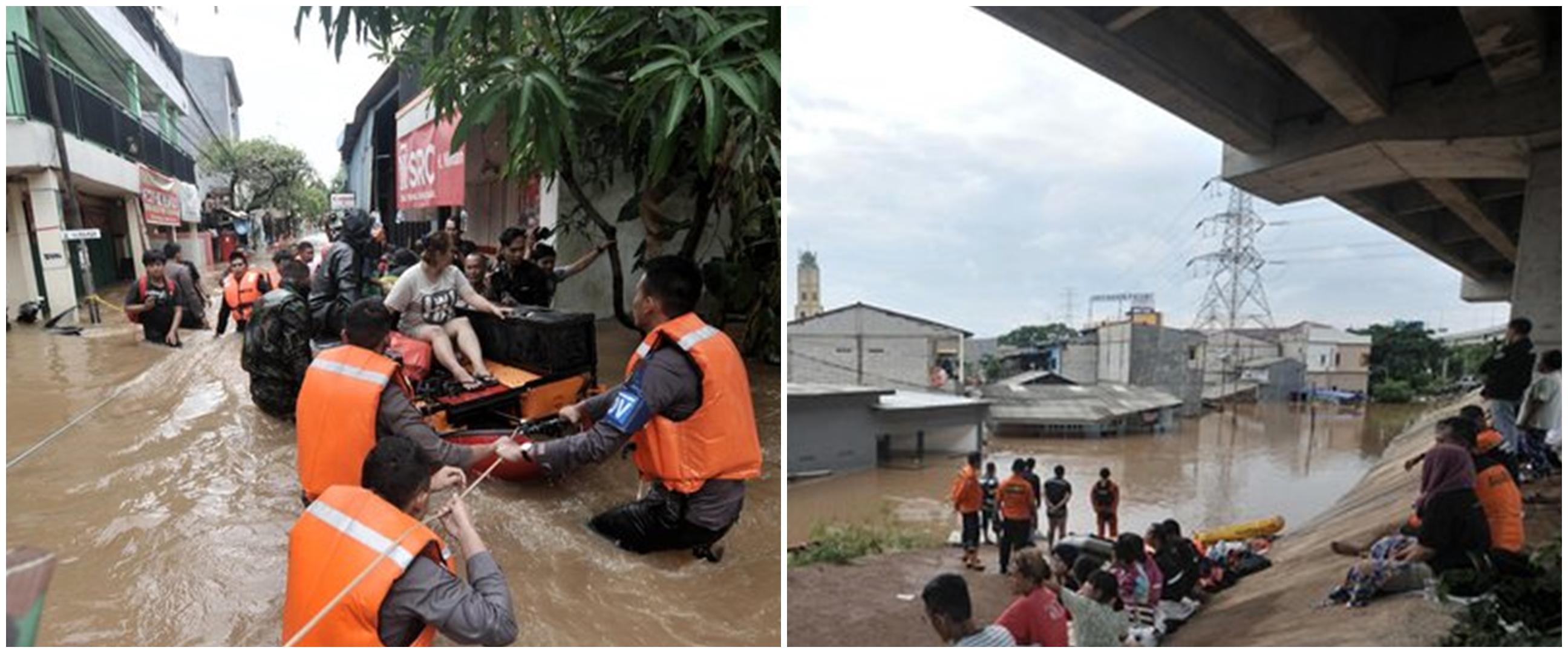Banjir Jakarta jadi sorotan media asing, korban capai 21 orang