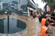 7 Musibah banjir Jakarta terbesar sepanjang 1918-2020