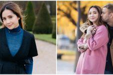 Harga 7 outfit Nagita Slavina liburan keliling dunia, fantastis