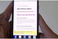 Aturan IMEI diterbitkan, ini cara cek legalitas IMEI ponsel