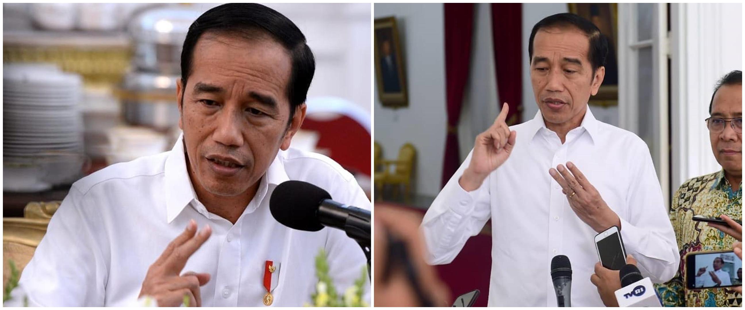 Detik-detik Presiden Jokowi mendadak kunjungi Waduk Pluit