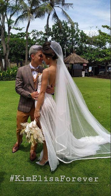Momen pernikahan Kim Kurniawan instagram