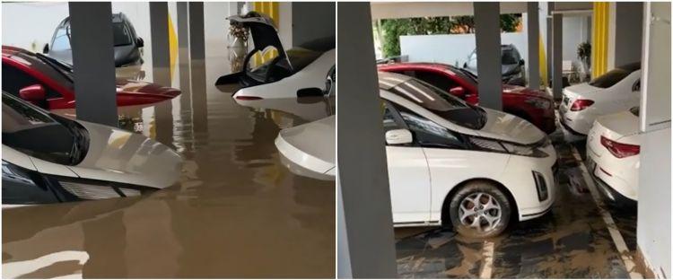 5 Potret mobil mewah Parto Patrio saat & sesudah terendam banjir