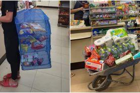 Thailand antiplastik, ini 10 cara nyeleneh warga saat belanja