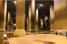 Canggih, Jepang punya 5 tangki raksasa bawah tanah atasi banjir