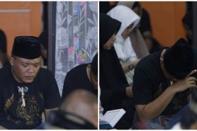11 Momen tahlilan mendiang Lina, Sule tak kuasa tahan air mata