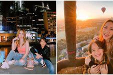 10 Potret liburan BCL sekeluarga di Melbourne, kompak & mewah