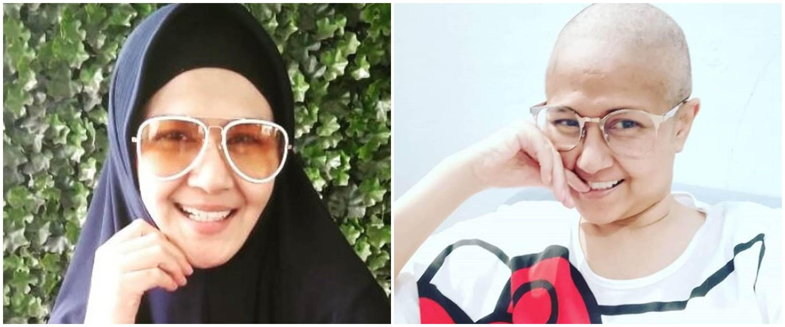 8 Momen kenangan Ria Irawan berjuang melawan kanker dan tumor