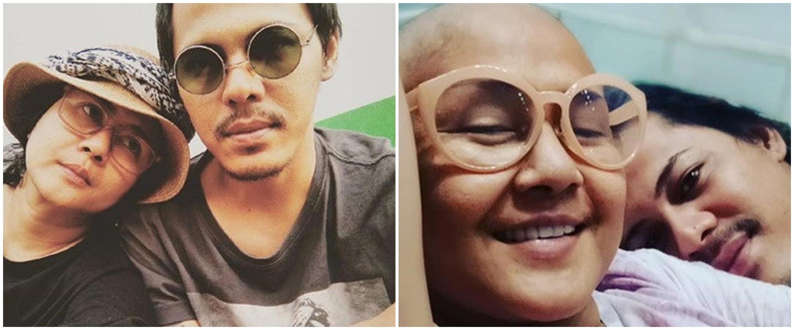 Potret kesedihan Mayki Wongkar ditinggal Ria Irawan