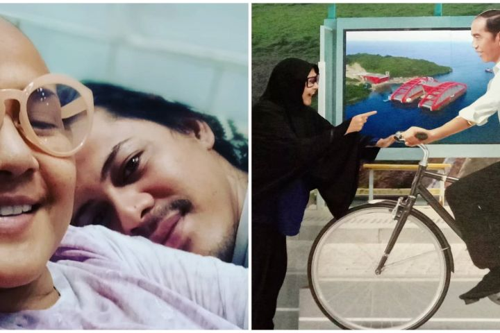 7 Potret kenangan suami dampingi Ria Irawan sampai akhir hayat