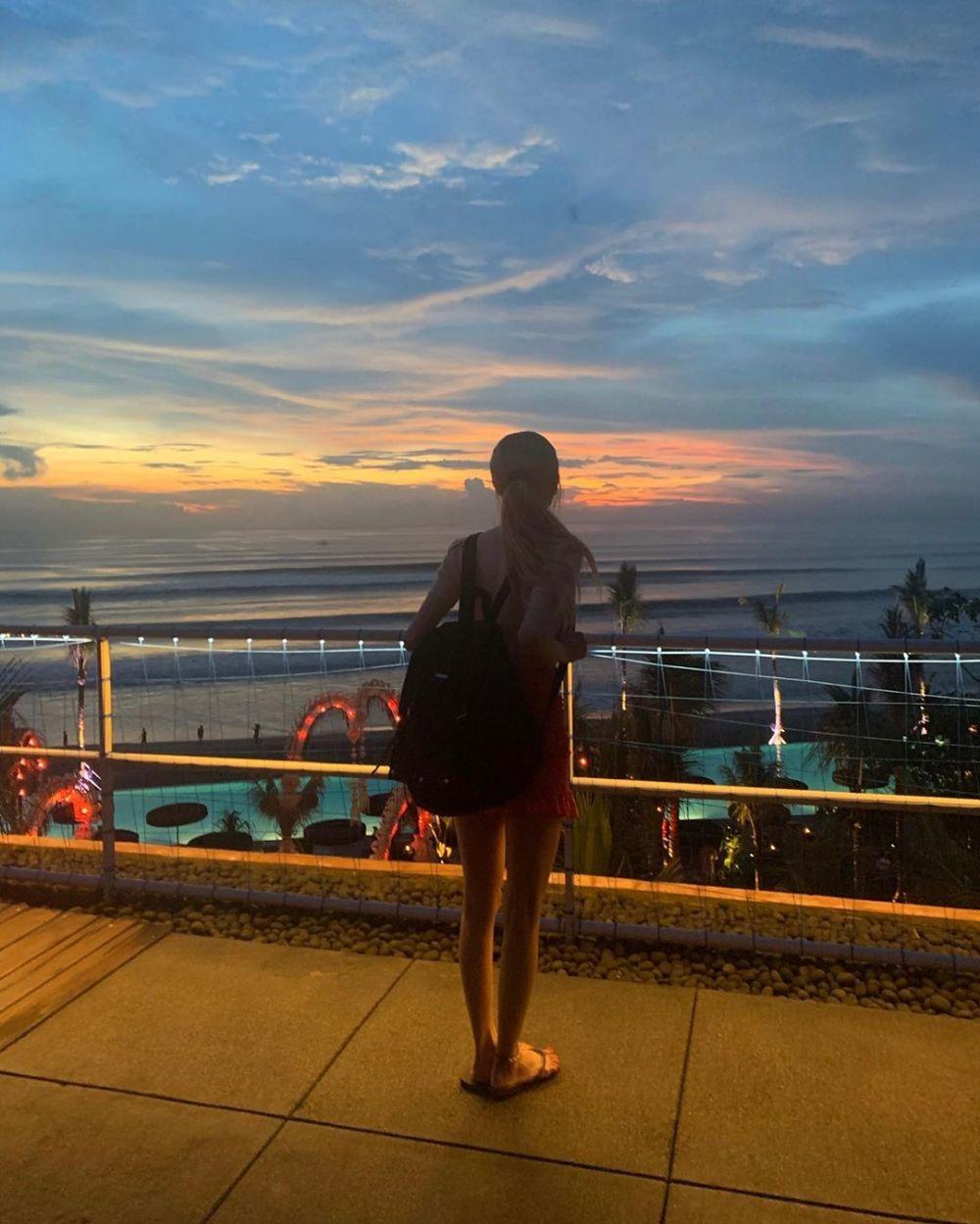 6 Potret liburan Rose 'BLACKPINK' di Bali, bikin terpesona © 2020 instagram.com