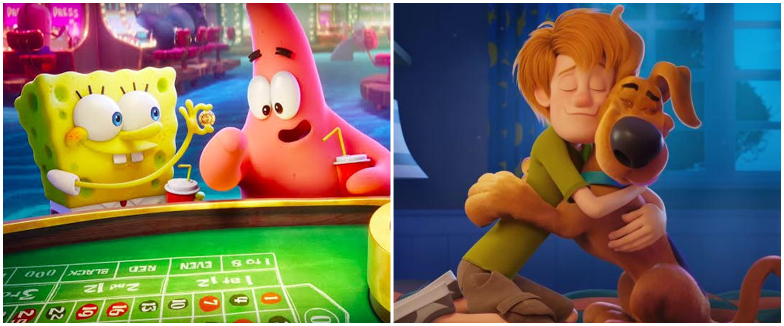 9 Film animasi populer tayang 2020, SpongeBob hingga Scoob