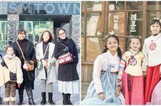 10 Potret Andhika Pratama & Ussy liburan ke Korea, jadi sorotan