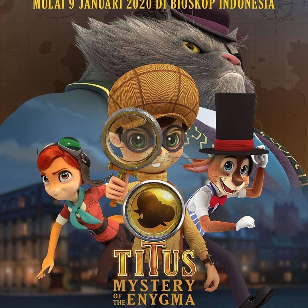 5 Fakta Menarik Animasi Titus Film Karya Anak Bangsa