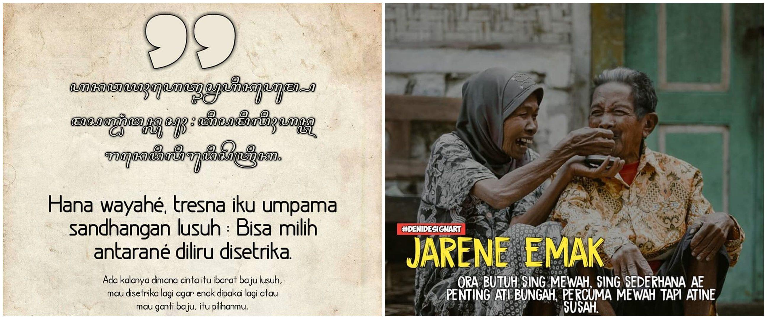 40 Kata-kata keren bahasa Jawa, penuh makna & motivasi