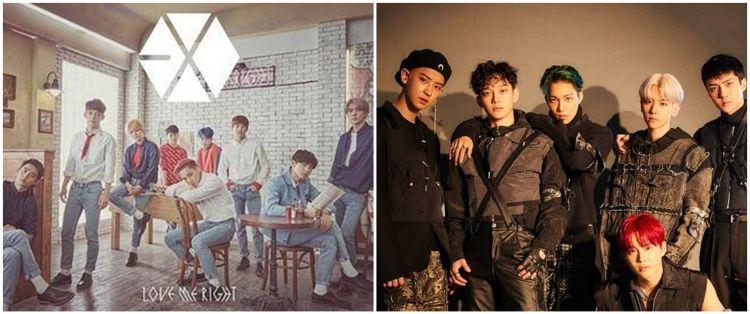 12 Lagu idol K-Pop EXO paling easy listening