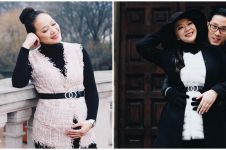 10 Potret babymoon Yuanita Christiani & suami di Inggris, romantis