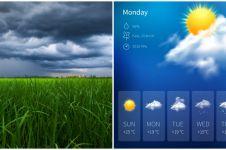 10 Aplikasi ramalan cuaca di Android, lengkap dan akurat