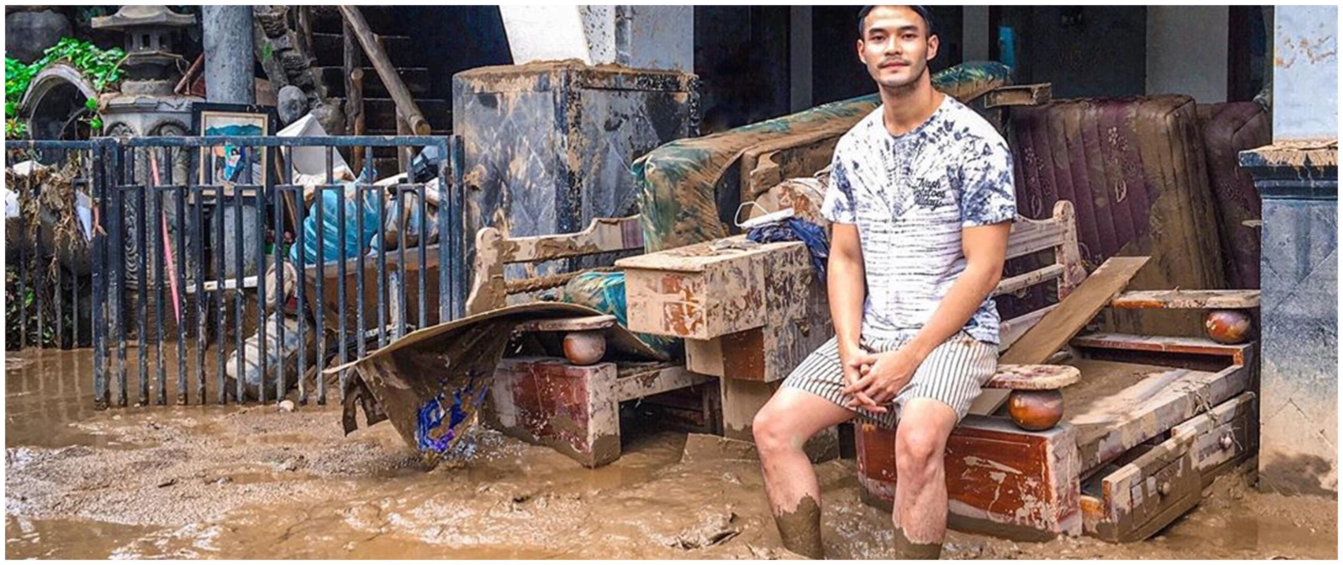 Sepekan banjir, ini 8 potret rumah Kevin Andrean terendam lumpur