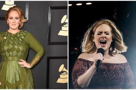 6 Potret terbaru Adele super kurus sedang liburan di Caribbean
