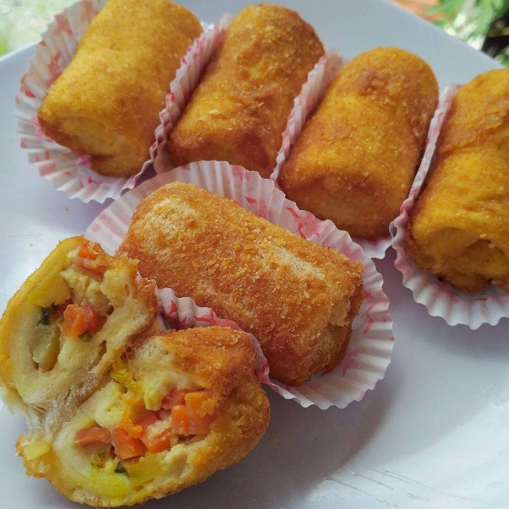 13 Resep kreasi roti tawar  Instagram/@susie.agung  @foodishpedia