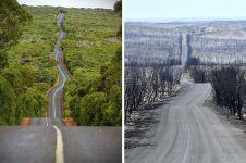 6 Penampakan sebelum & sesudah kebakaran di Australia, miris