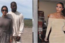 6 Penampakan dapur mewah Kim Kardashian, kulkas kosong dicibir