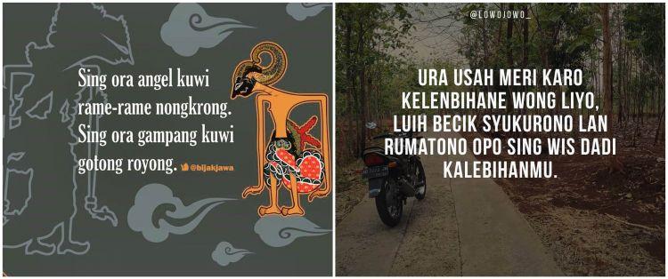 59 Kata Kata Motivasi Kehidupan Bahasa Jawa Menyentuh Hati