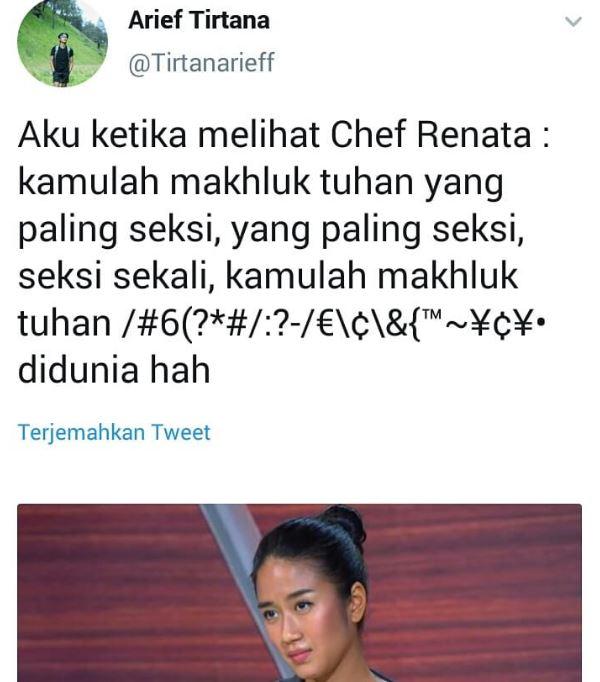 gombalin Chef Renatta instagram