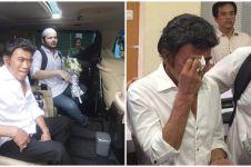 10 Momen Rhoma Irama jemput Ridho bebas dari penjara, penuh tangis