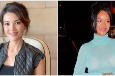 10 Potret bukti Farah Quinn mirip Rihanna, bak fotokopi