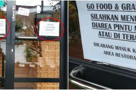 Viral restoran larang driver ojek online masuk, disemprot warganet