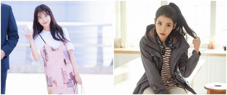 12 Inspirasi fashion idol K-Pop IU, simpel bisa buat ke kampus
