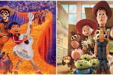 15 Film animasi Pixar terbaik sepanjang masa, sukses sentuh emosi