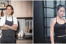Adu 5 model tato Chef Juna dan Chef Renatta yang jadi perhatian