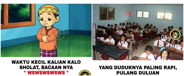 15 Meme lucu masa kecil ini bikin ketawa nostalgia