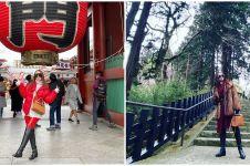10 Potret liburan Zaskia Gotik di Jepang, gayanya curi perhatian