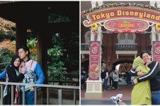 8 Potret liburan Cut Meyriska dan Roger ke Jepang, seru banget