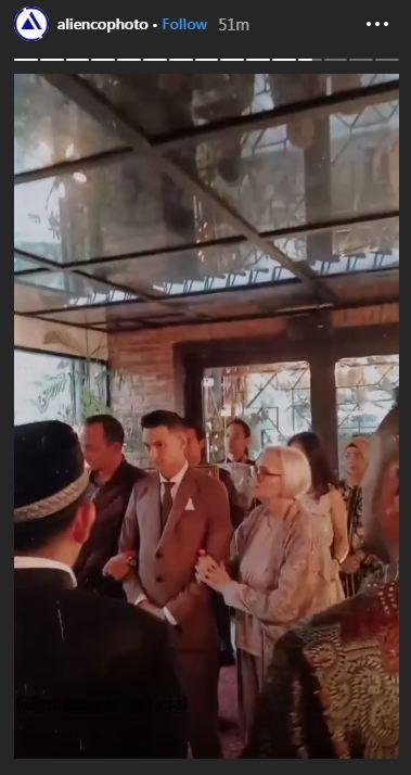 7 Momen pernikahan Marcell Darwin dan Nabila Faisal, simpel elegan Instagram/@marcelldarwin