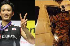 Mobil ditumpangi Kento Momota kecelakaan, sopir tewas