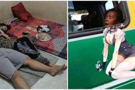 9 Momen orang kepergok tidur, gayanya bikin nyengir