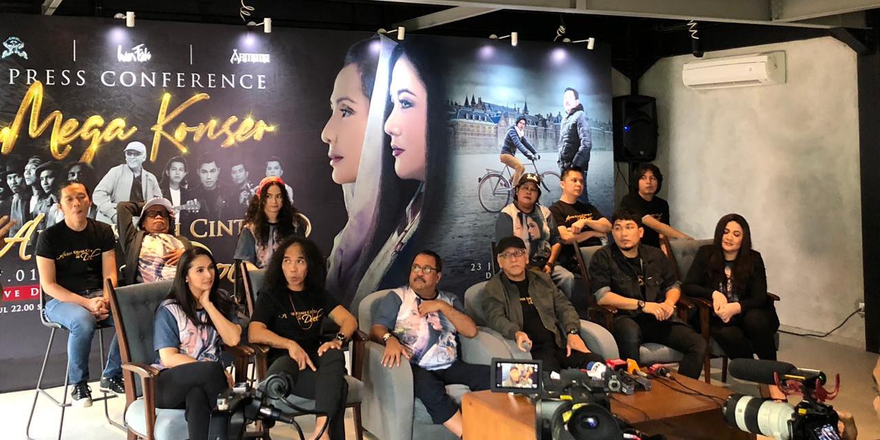 Jelang perilisan, film Si Doel The Movie 3 gelar mega konser