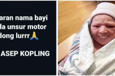 20 Nama bayi dengan unsur motor ini bikin ngakak nangis