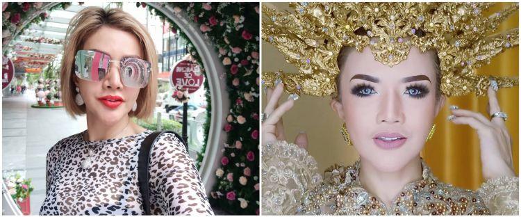 6 Potret Barbie Kumalasari jadi model pengantin, bikin pangling