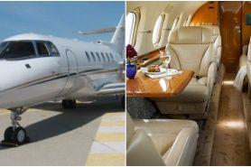 Viral jet pribadi dijual pemilik, harganya bikin dompet bergetar