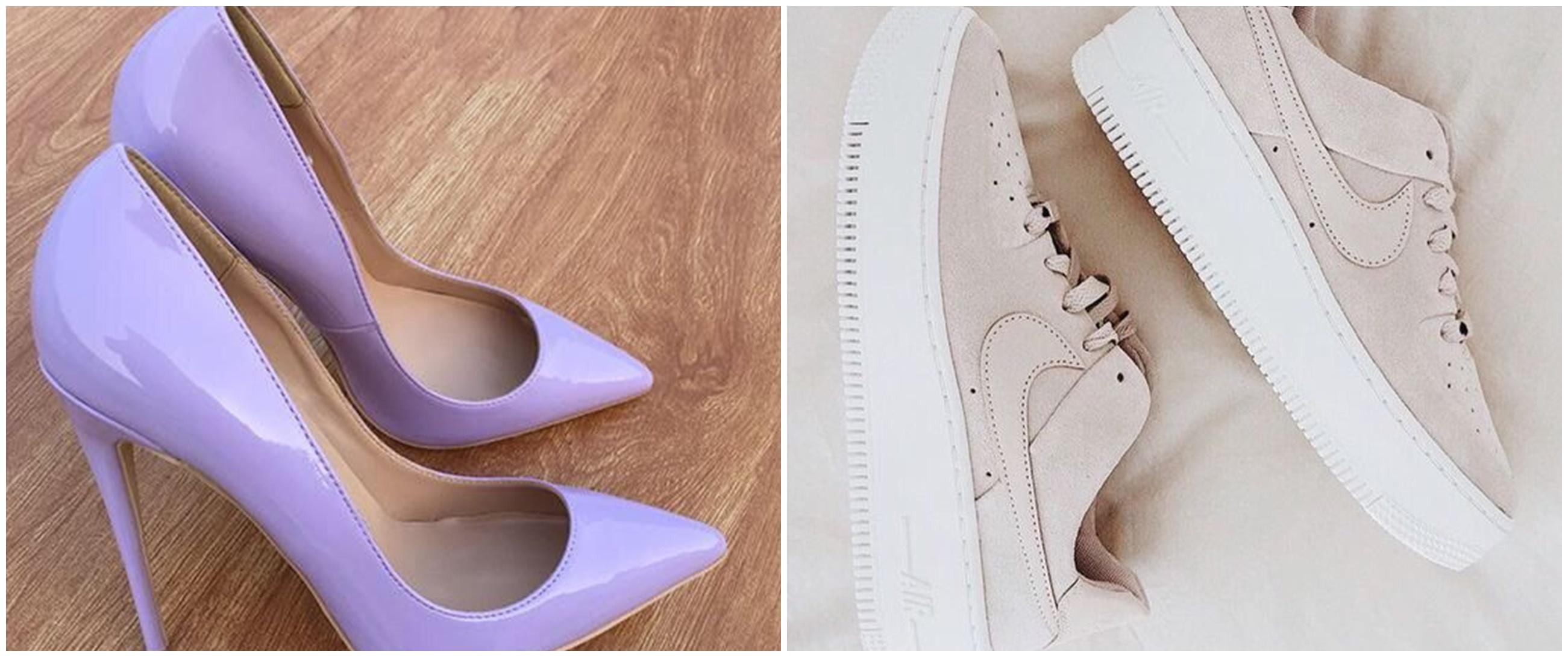 40 Jenis model sepatu cewek yang bikin penampilan stylish