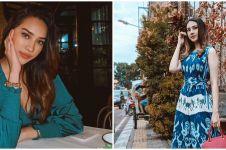 7 Pesona Anya Geraldine kenakan hijab, auranya terpancar