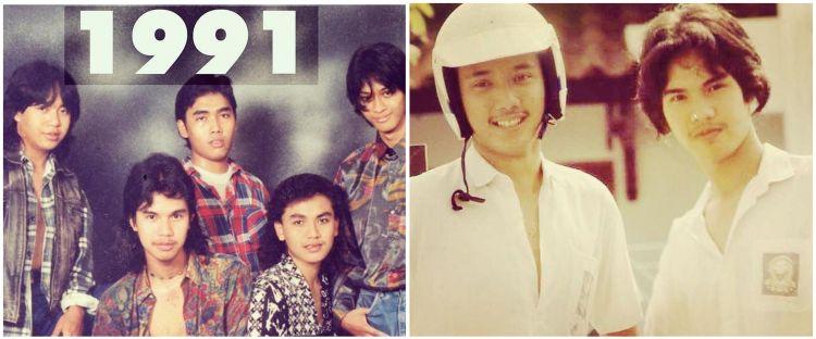 7 Potret jadul Ahmad Dhani semasa muda, penuh kenangan